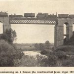 Rauna jõe raudteesild 1919 aasta algul