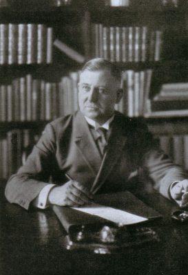 August Winnig aastal 1920. Foto: August-Winnig-Archiv