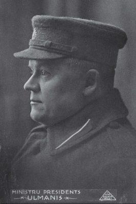 Kārlis Ulmanis aastal 1920. Foto: Rahvusarhiiv