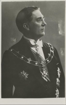Kārlis Zariņš, Läti saadik Eestis 1930–1933 ja välisminister 1931–1933, hiljem saadik Suurbritannias. Foto: Rahvusarhiiv