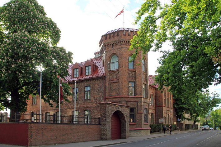 Läti suursaatkonna hoone Tallinnas Tõnismägi 10.