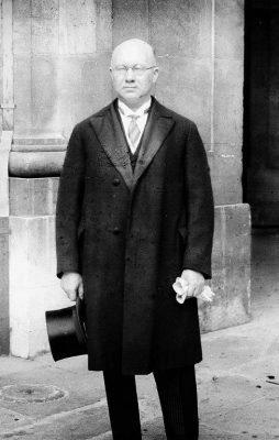 Otto Strandman riigivanemana. Foto: Peter Hääle erakogu