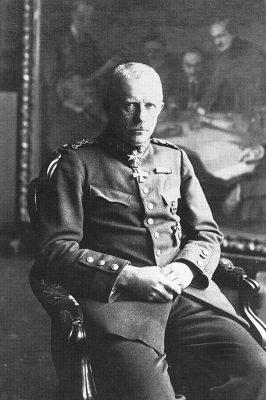 Kindralmajor Rüdiger von der Goltz, Baltimaadel tegutsenud Saksa väekoondise juht 1919. aastal